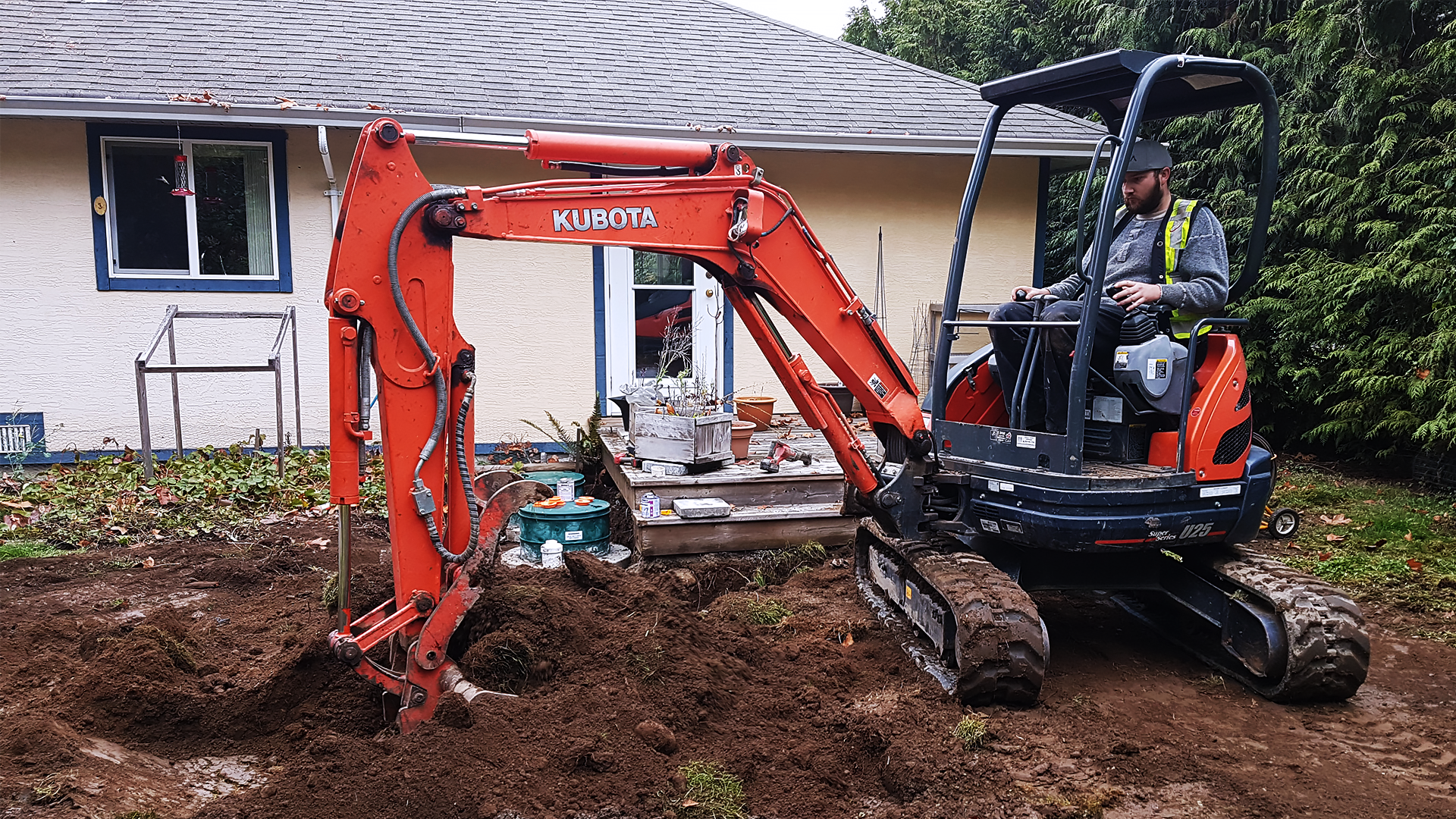 Excavating Services